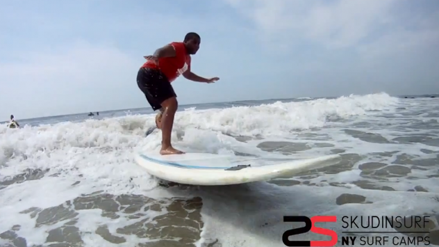 SNL's Kenan Thompson Surfs with NYSEA Crew