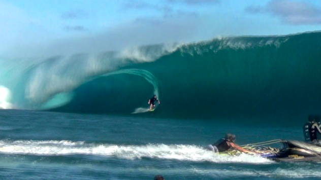 NY making history at Teahupoo